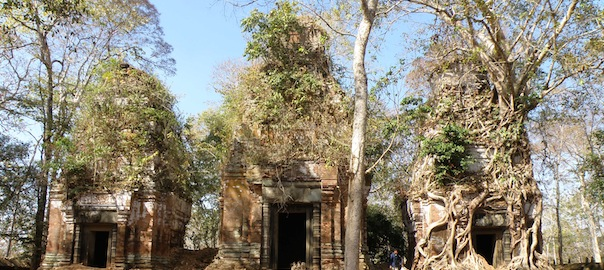 Main Temple Set At Koh Ker