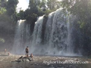 Kulen Mountain Lower Tier Waterfall
