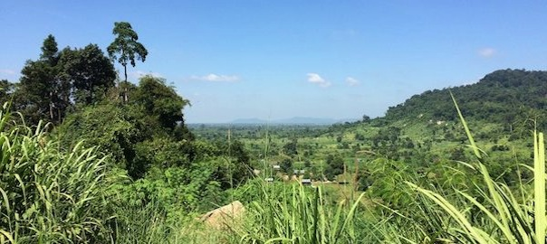 View Over Valley Of Kulen Mountain