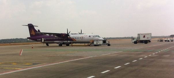 Cambodia Angkor Air At Siem Reap International Airport