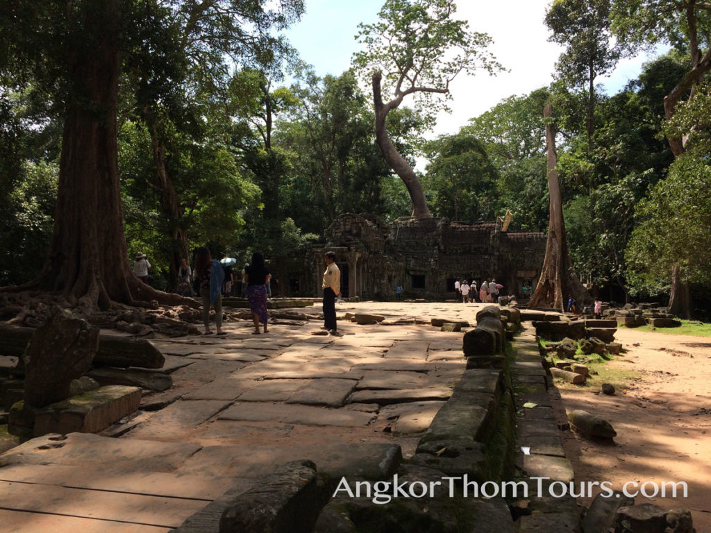 East Main Entrance To Ta Prohm