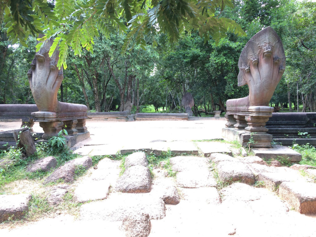 Intact Naga East Causeway Enterance Exiting South Beng Mealea