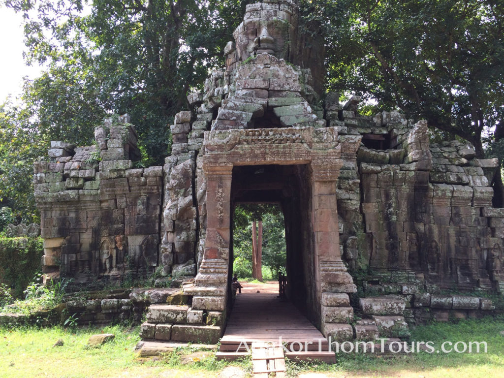 Far West Entrance At Banteay Kdei