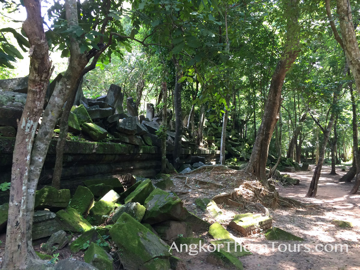 North Outer Wall Beng Mealea In Ruins
