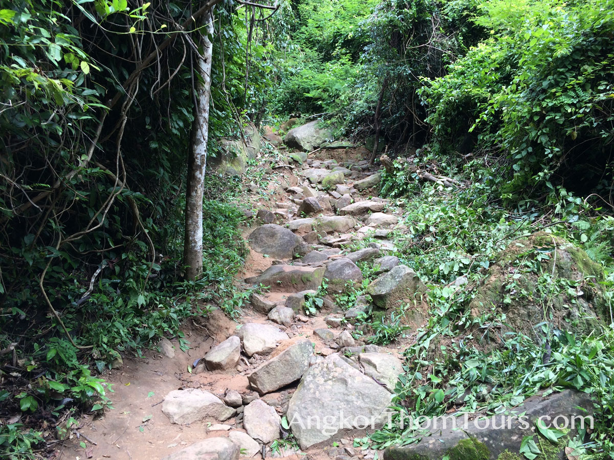 Rocky Nature Path At Kbal Spean
