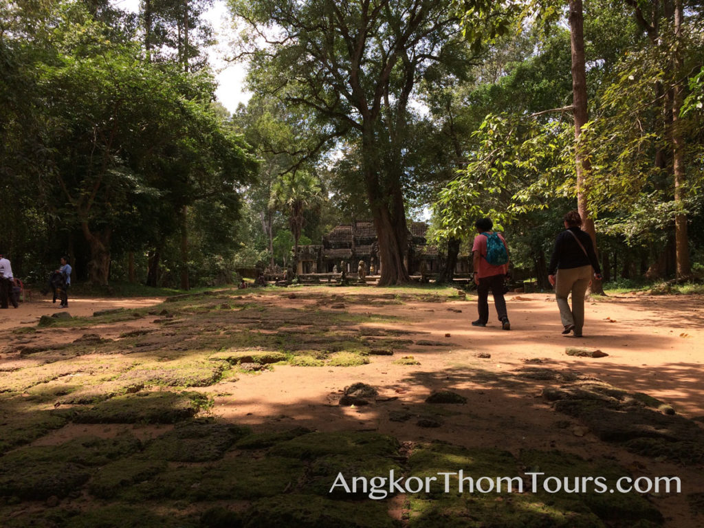 The Rough Causeway At Banteay Kdei
