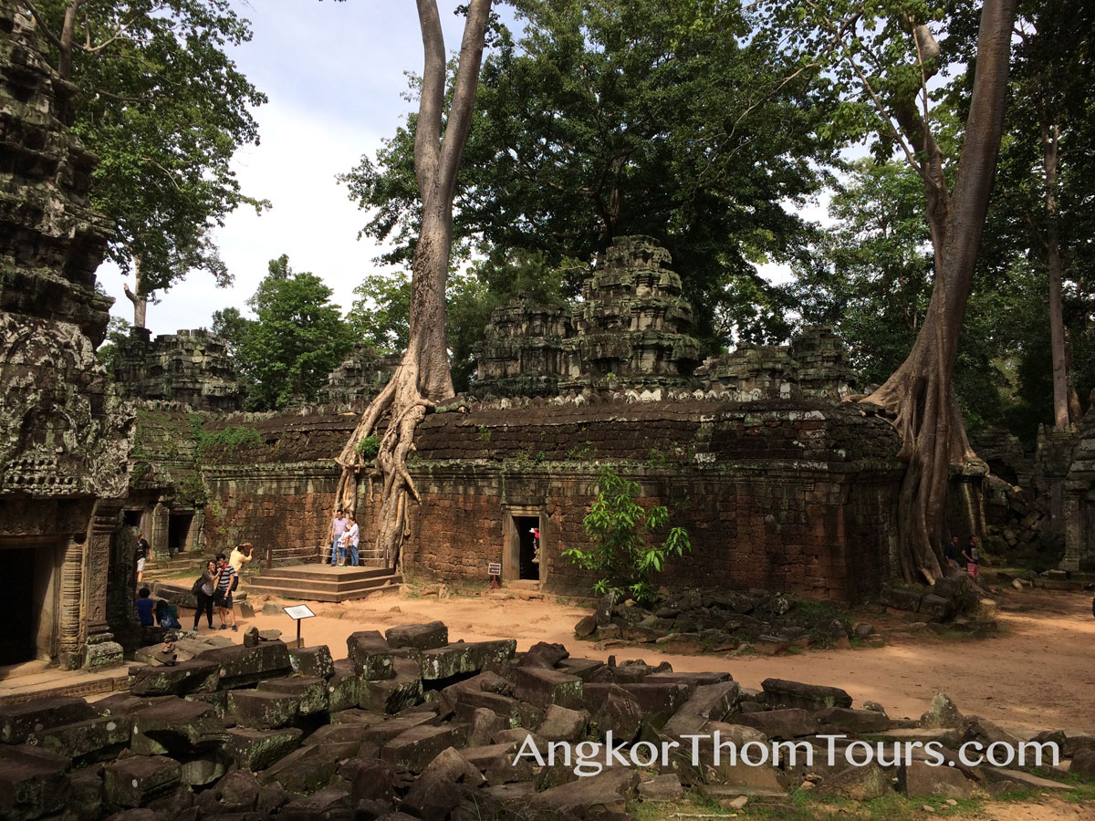 Trees Growing Through Inner Temple Ta Prohm